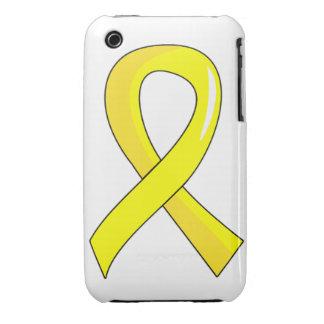 Endometriosis Yellow Ribbon 3 iPhone 3 Covers