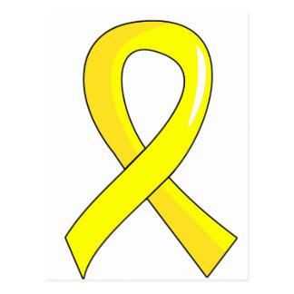 Endometriosis Yellow Ribbon 3 Postcard