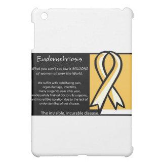 Endometriosis- Yellow Ribbon iPad Mini Covers