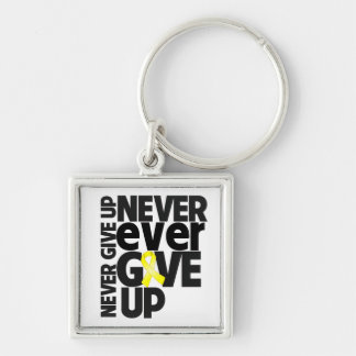 Endometroisis Never Ever Give Up Keychain