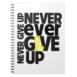 Endometroisis Never Ever Give Up Spiral Note Books