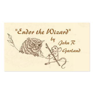 Endor & His Friends Double-Sided Standard Business Cards (Pack Of 100)