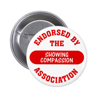 Endorsed by the Showing Compassion Association Pin