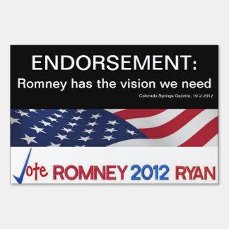 ¡Endoso Romney El CO salta muestra de la gaceta