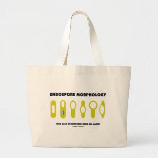 Endospore Morphology - Who Said Were All Alike? Tote Bag