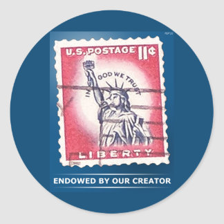 Endowed By Our Creator Sticker