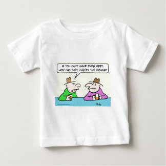 ends justify means meet baby T-Shirt
