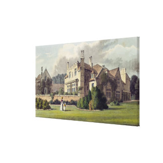Endsleigh, from Ackermann's 'Repository of Arts', Canvas Print