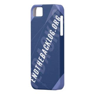 ENDTHEBACKLOG iPhone 5 Case