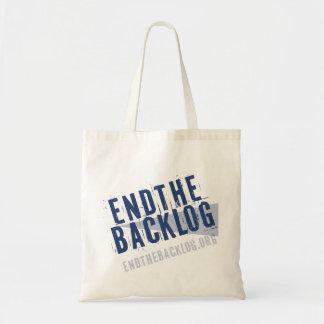 Endthebacklog.org Bolsas Lienzo
