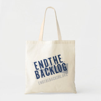 Endthebacklog.org Tote Bag