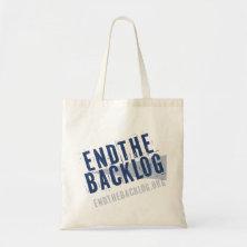 Endthebacklog.org Tote Bags