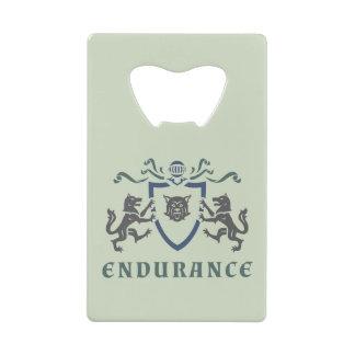 Endurance Coat of Arms Credit Card Bottle Opener