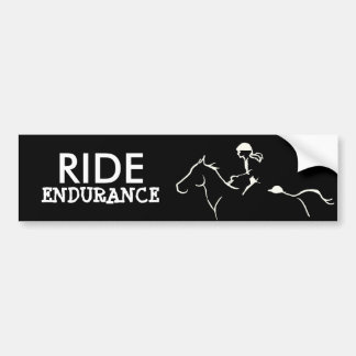 Endurance Horse Bumper Sticker