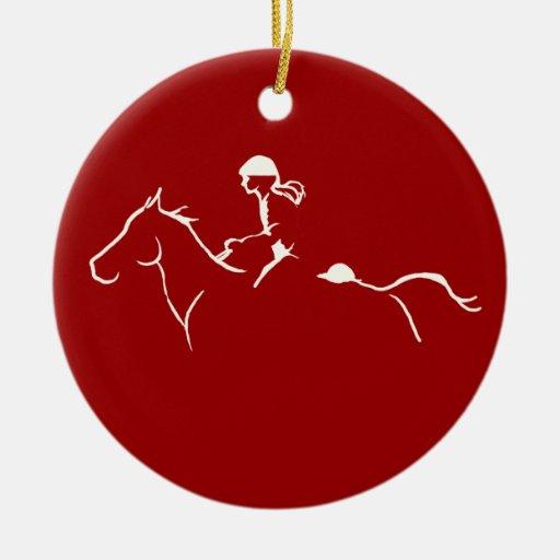 Endurance Horse Christmas Ornaments