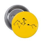 Endurance Horse Pinback Button