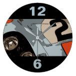 ENDURANCE RACER - #2 LARGE CLOCK
