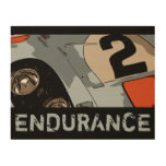 ENDURANCE RACER - #2 WOOD PRINT