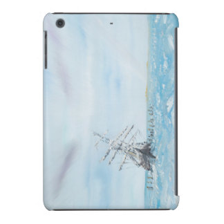 Endurance trapped by the Antarctic Ice. Painted iPad Mini Cover