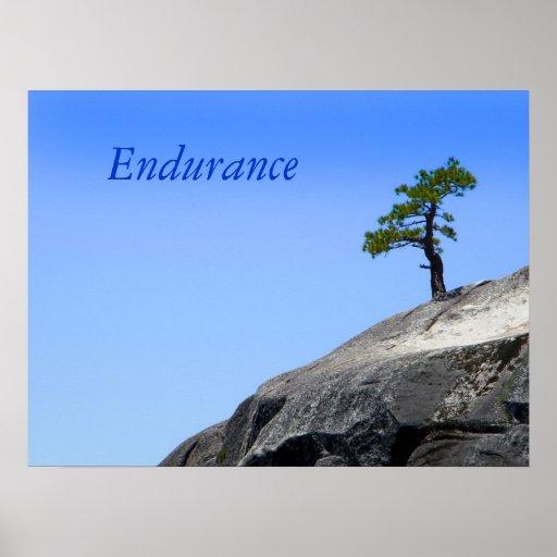 Endurance Tree Poster