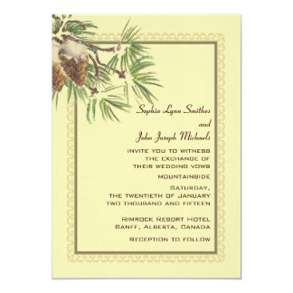 Enduring Wedding Invitation