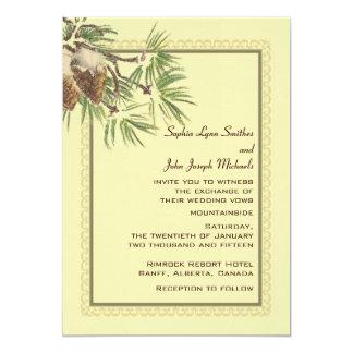 Enduring Wedding Invitation