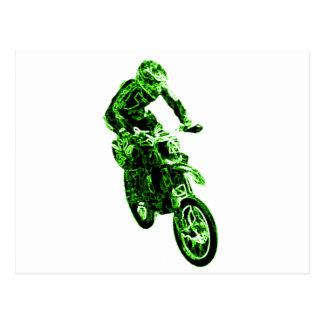 Enduro Green Postales
