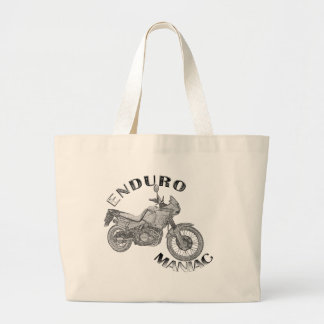 Enduro Maniac - Biker Jumbo Tote Bag
