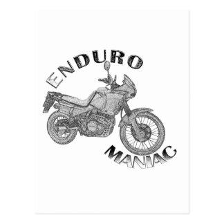 Enduro Maniac - Biker Postcard