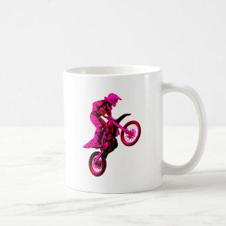 Enduro pink coffee mug
