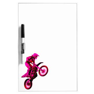 Enduro pink dry erase board