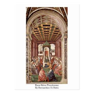 Enea Silvio Piccolomini By Bernardino Di Betto Postcard