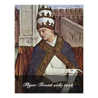 Enea Silvio Piccolomini, Pope Pius Ii, Also Known Flyer Design
