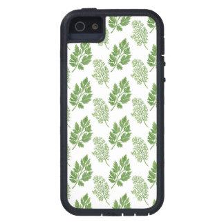 Eneldo y perejil iPhone 5 cárcasas
