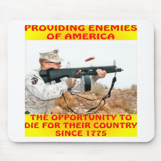 Enemies Of America Die For Their Country 1775 Mouse Pad