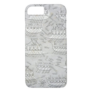 Enemies of the Assyrians taking refuge in ships, p iPhone 8/7 Case