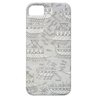 Enemies of the Assyrians taking refuge in ships, p iPhone SE/5/5s Case