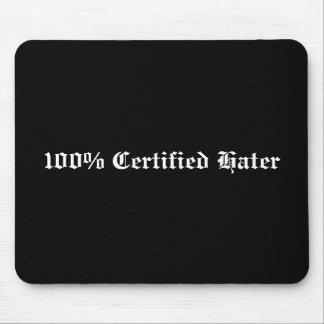 Enemigo certificado el 100% tapetes de ratones
