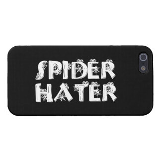 Enemigo de la araña iPhone 5 cárcasas
