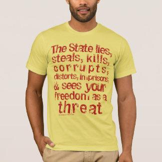 Enemigo de la camiseta del estado