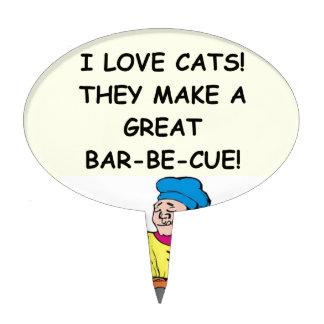 enemigo del gato figura de tarta
