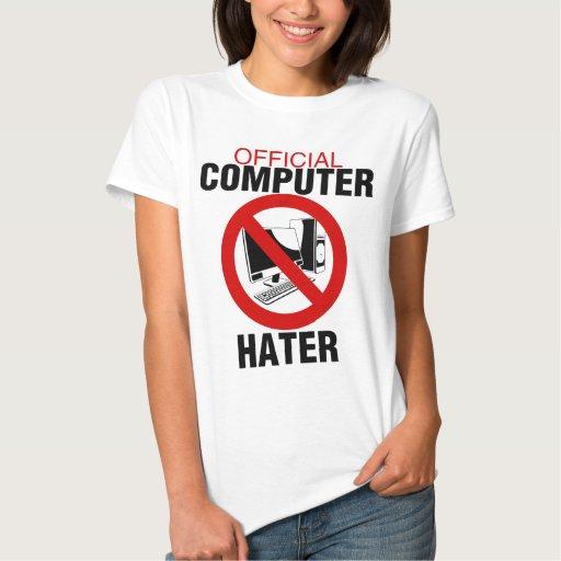 Enemigo del ordenador t shirts
