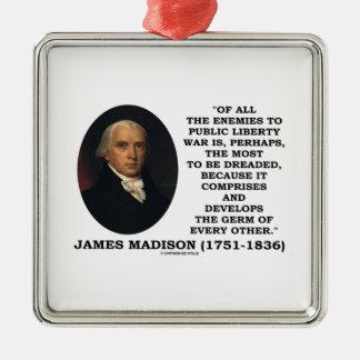 Enemigos de James Madison a la cita pública de la Ornamentos De Reyes Magos