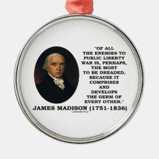 Enemigos de James Madison a la cita pública de la Ornamente De Reyes