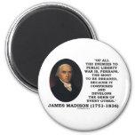 Enemigos de James Madison a la cita pública de la  Iman De Frigorífico