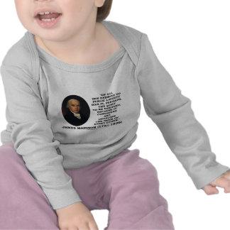 Enemigos de James Madison a la cita pública de la Camiseta