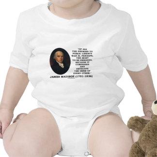 Enemigos de James Madison a la cita pública de la Camisetas