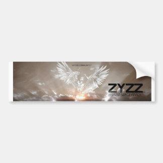 Enemigos del poster de Zyzz que van a odiar Pegatina Para Auto