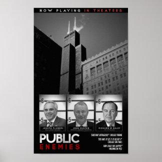 Enemigos públicos impresiones