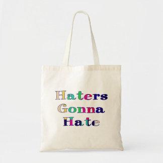 Enemigos que van a odiar bolsa tela barata